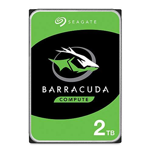 Seagate 2 TB BarraCuda 3.5 Inch Internal Hard Drive (7200 RPM, 256 MB Cache, SATA 6 Gb/s, Up to 220 MB/s, Model: ST2000DM008)