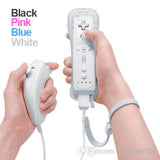 Classic Remote + Nunchuck Controller + Silicone Case for Wii / Wii Mini Multi Color  - White - Wii Accessories - Althemax - 1