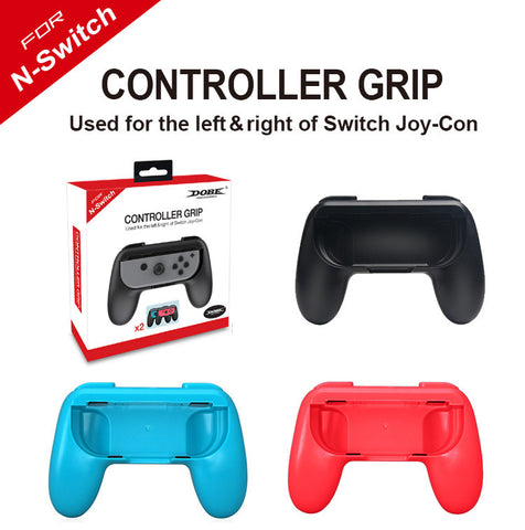 2 x Controller Remote dock Wheel Accessory Joy-Con For Nintendo Switch (Black)