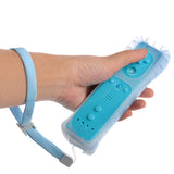 Classic Remote + Nunchuck Controller + Silicone Case for Wii / Wii Mini Multi Color - Blue - Wii Accessories - Althemax - 3