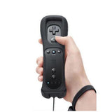 Classic Remote + Nunchuck Controller + Silicone Case for Wii / Wii Mini Multi Color - Black - Wii Accessories - Althemax - 2