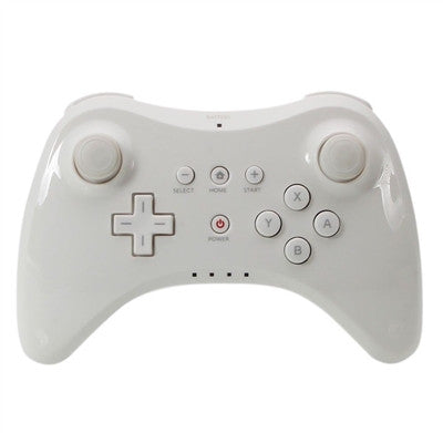 Wireless Classic Pro Controller Remote Gamepad + Cable for Nintendo Wii U Multi Color - White - Wii U Accessories - Althemax - 1