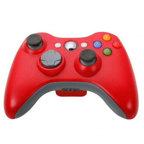 New Wireless Cordless Shock Game Joypad Controller For xBox 360 - Red - XBox 360 Accessories - Althemax - 1
