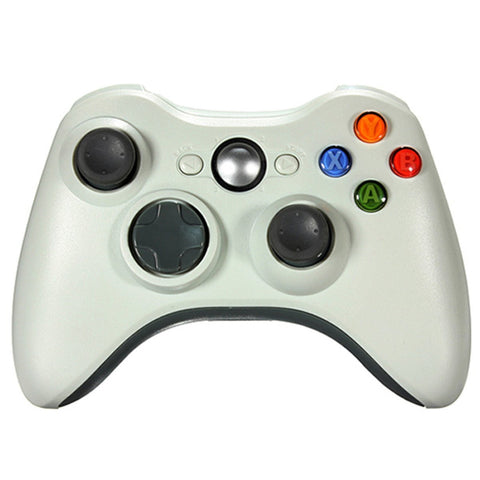 New Wireless Cordless Shock Game Joypad Controller For xBox 360 - White - XBox 360 Accessories - Althemax - 1