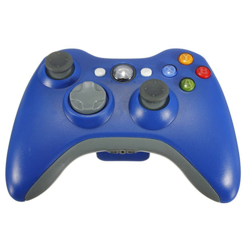 New Wireless Cordless Shock Game Joypad Controller For xBox 360 - Blue - XBox 360 Accessories - Althemax - 1