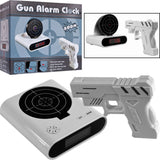 Shooting Laser Toy Gun Alarm Clock Target Panel Shooting LCD Screen Toy Games Gifts White - Alarm Clocks - Althemax - 3