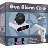 Shooting Laser Toy Gun Alarm Clock Target Panel Shooting LCD Screen Toy Games Gifts White - Alarm Clocks - Althemax - 4