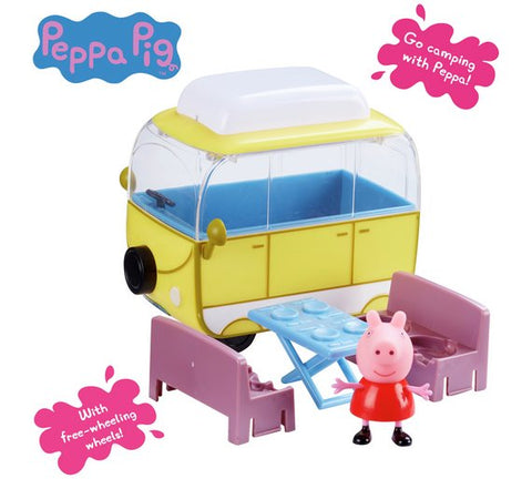 Peppa Pig Campervan With Peppa and Table Set