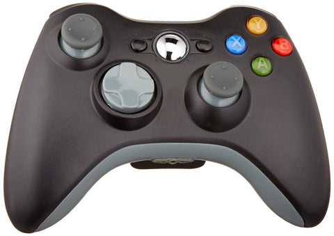 New Wireless Cordless Shock Game Joypad Controller For xBox 360 - Black - XBox 360 Accessories - Althemax - 1