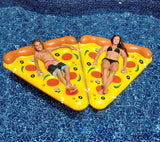 Althemax® Inflatable Pineapple Floating Rafts Bed For Swimming Pool Beach Toys / Pizza Slice - Floating Bed - Althemax - 8