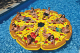 Althemax® Inflatable Pizza Slice Floating Rafts Bed For Swimming Pool Beach Toys Pizza / Pineapple - Floating Bed - Althemax - 4