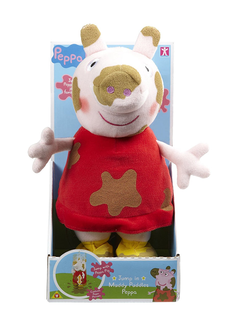 Peppa Jumo In Muddy Puddle PEPPA Doll with sound