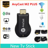 AnyCast Display Mirroring Miracast HDMI TV Dongle WiFi DLNA Multi-Media Display Receiver Dongle - Wi-Fi Dongles - Althemax - 1