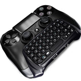 PS4 PlayStation 4 Controller Wireless Bluetooth Keyboard Chatpad GamePad DOBE Black