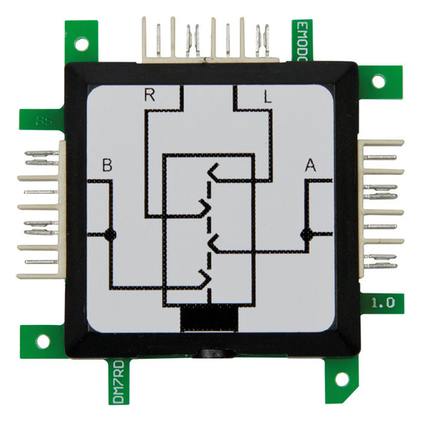 Brick'R'knowledge 3.5mm Connector voor Stereo + Microfoon (4polig) zijdelings