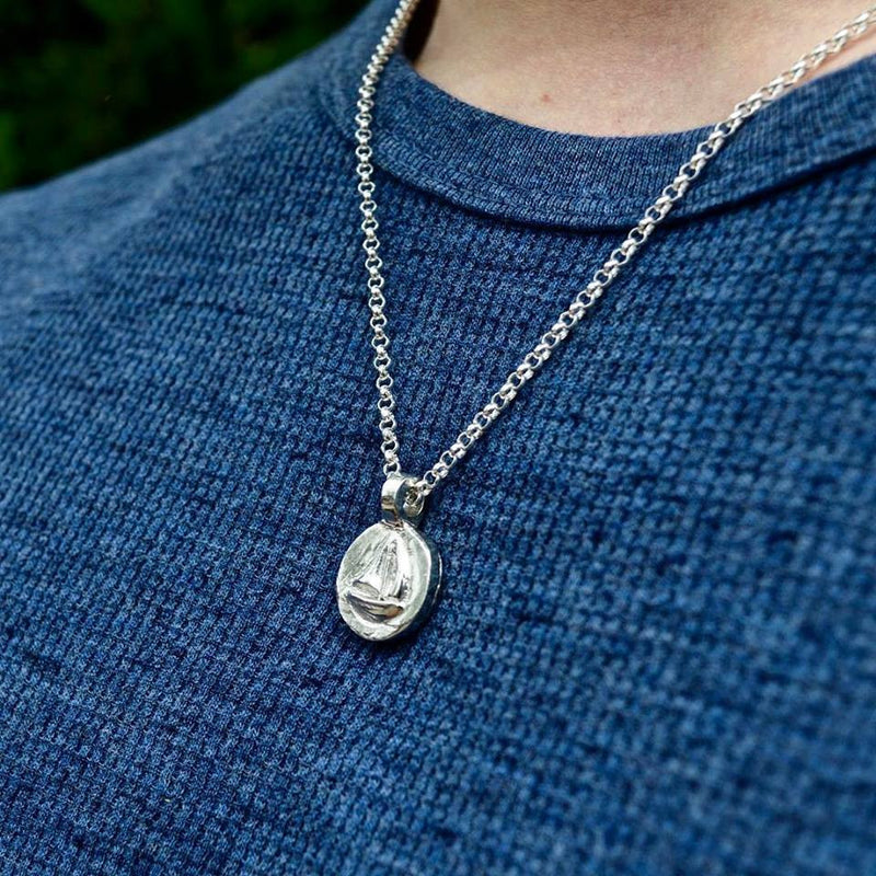 Yacht Disc Necklace