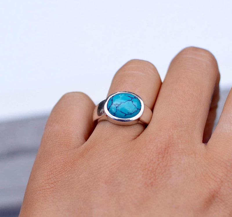 Allure Baby Turquoise Ring