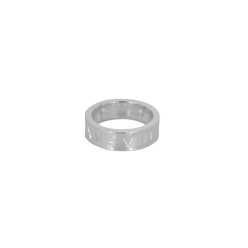 Personalised Flat Ring