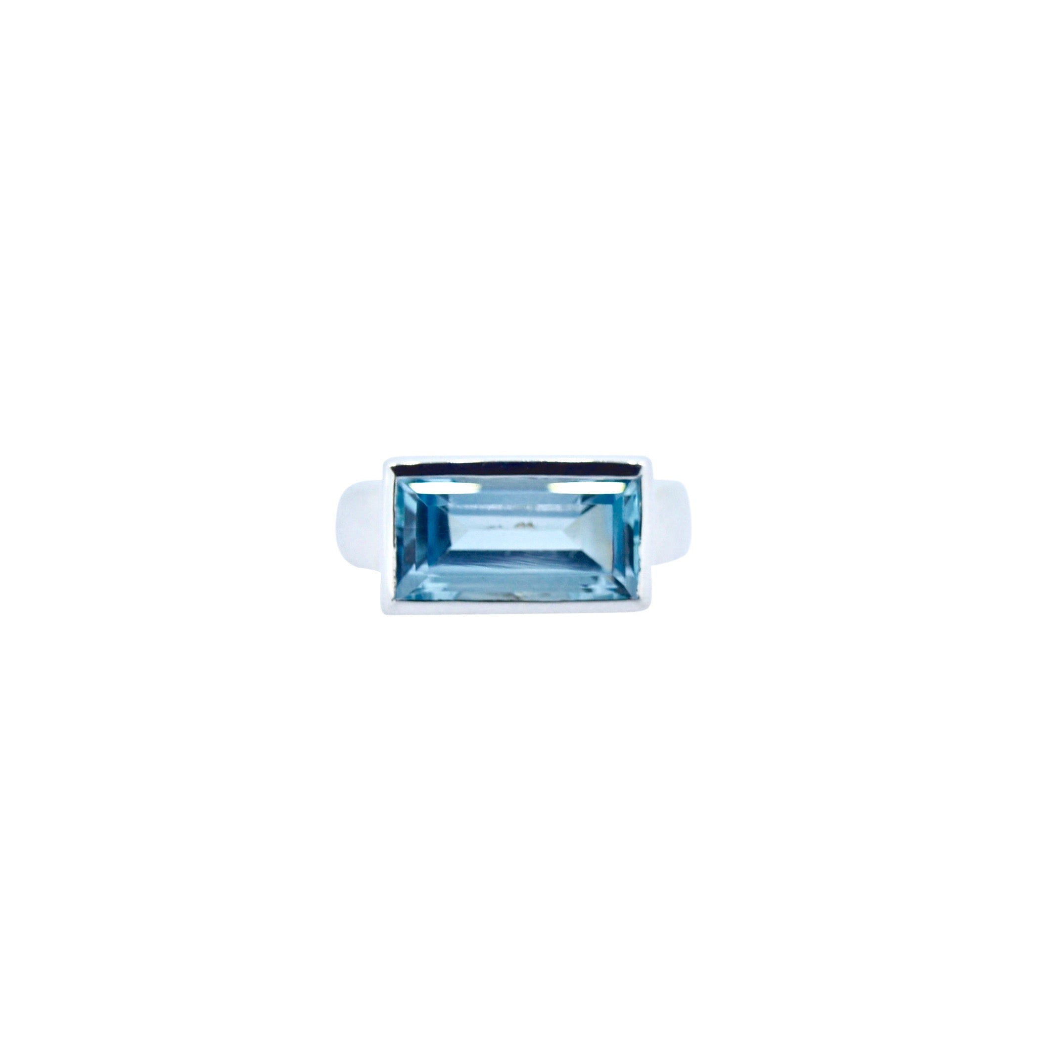 Allure Siena Blue Topaz Ring