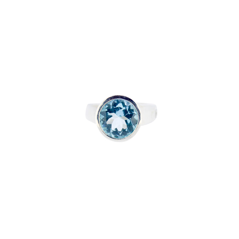 Allure Sky Blue Topaz Ring