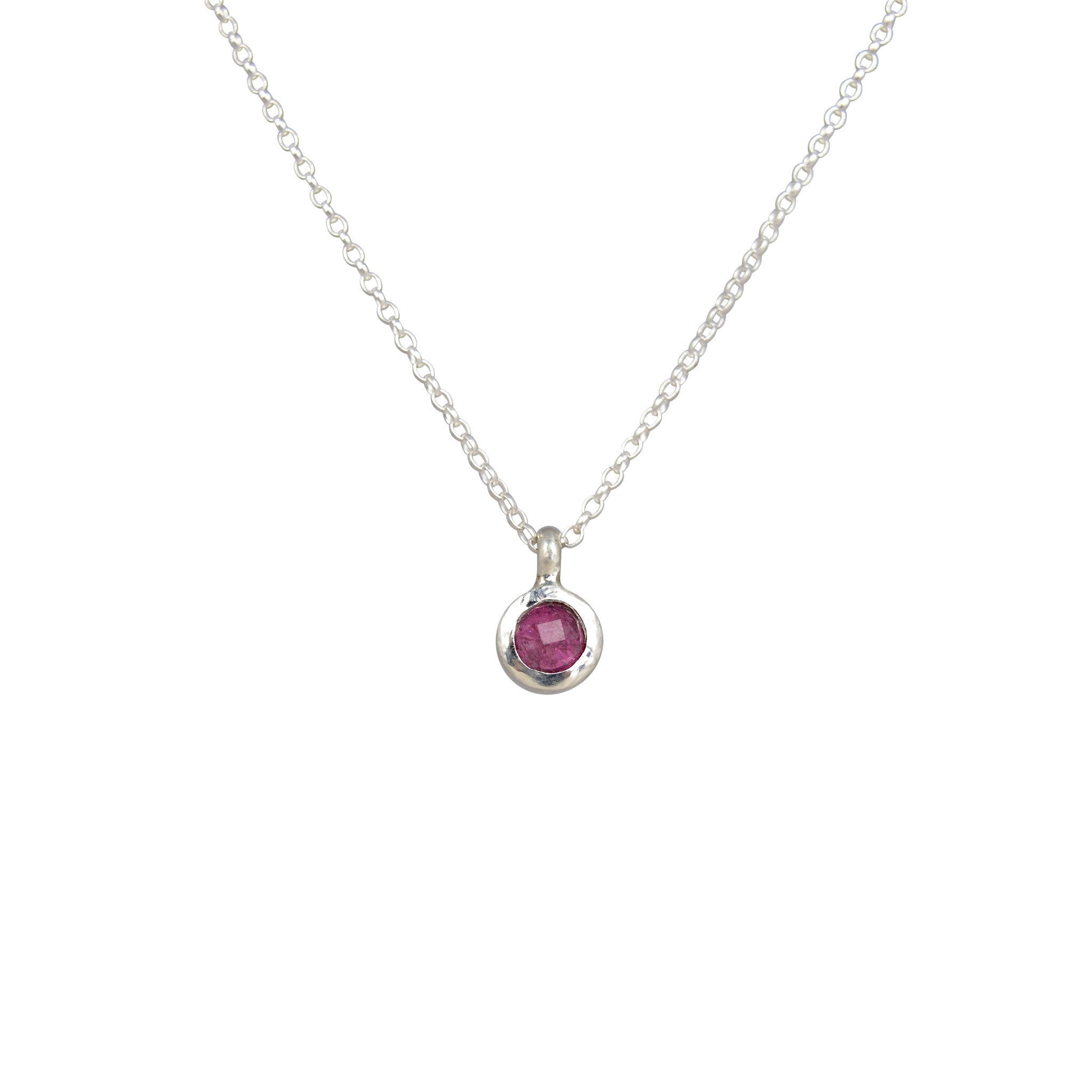 necklace muse pendant tourmaline allure dsc products studio pink