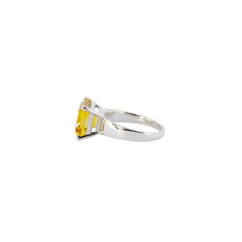 Allure Citrine Claw Ring