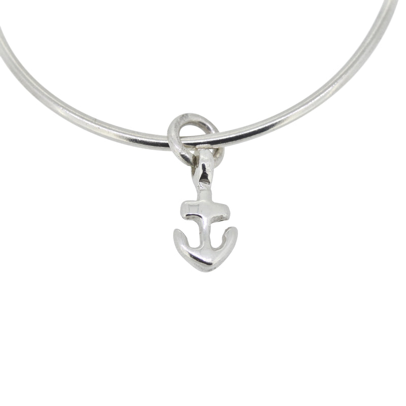 Small Anchor Bangle