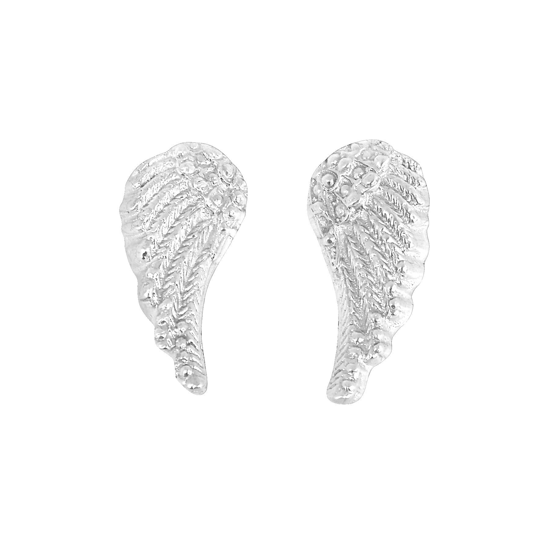 Large Angel Wing Studs