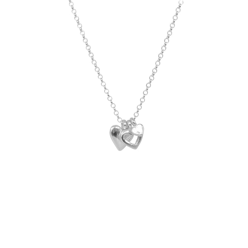 Threefold Heart Necklace