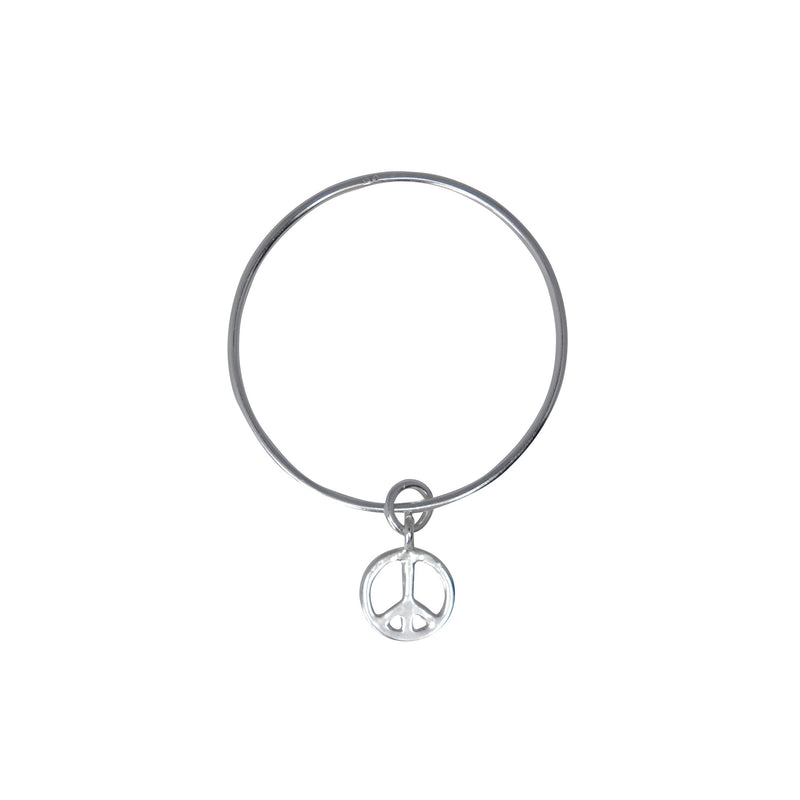 Medium Peace Bangle
