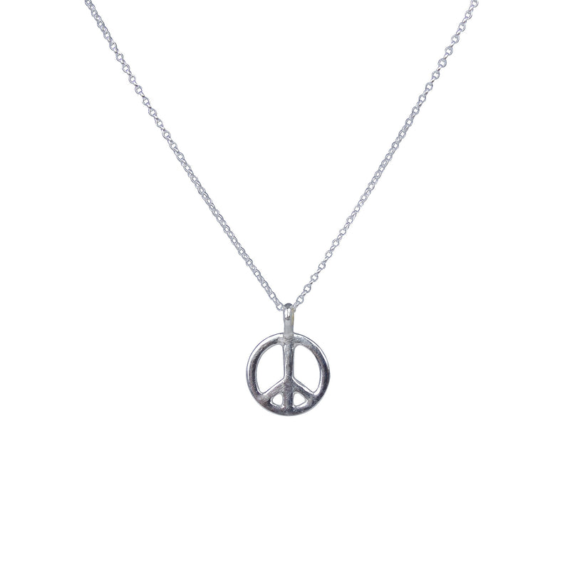 Medium Peace Sign Necklace