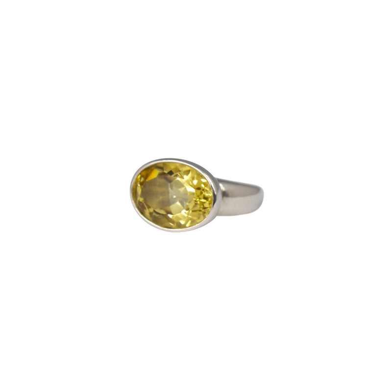 Allure Oval Citrine Ring