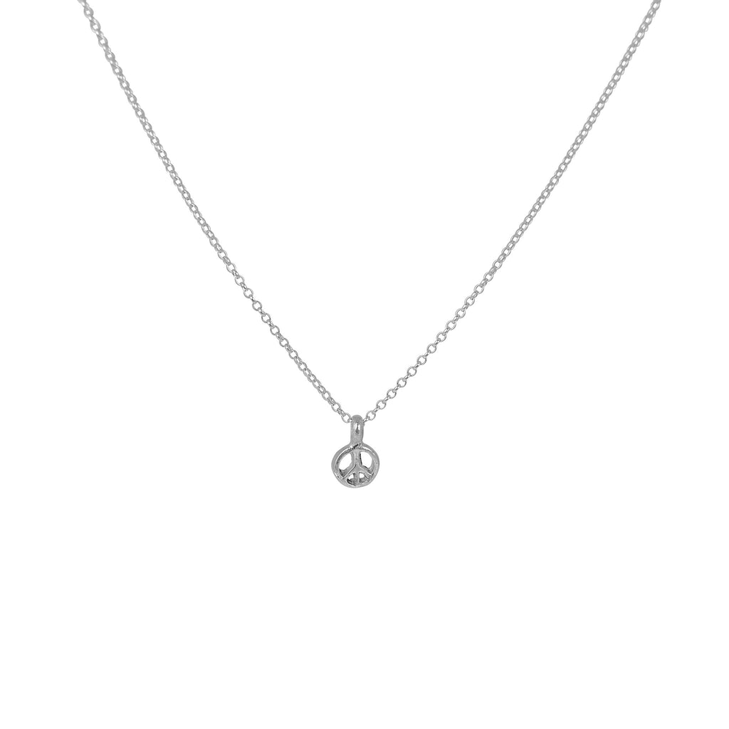 Tiny Peace Necklace