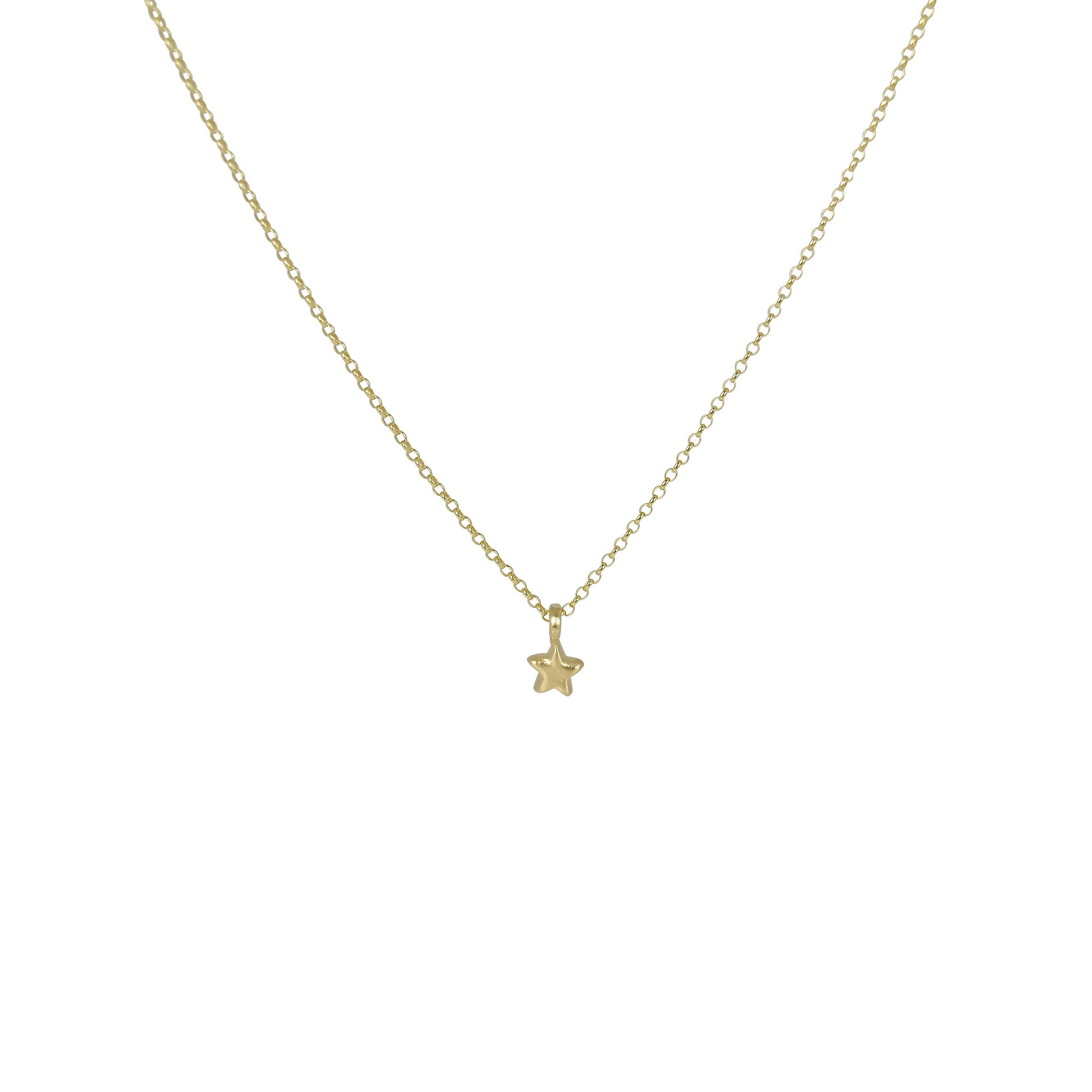 star charm tiny gold necklace brevard g of david products