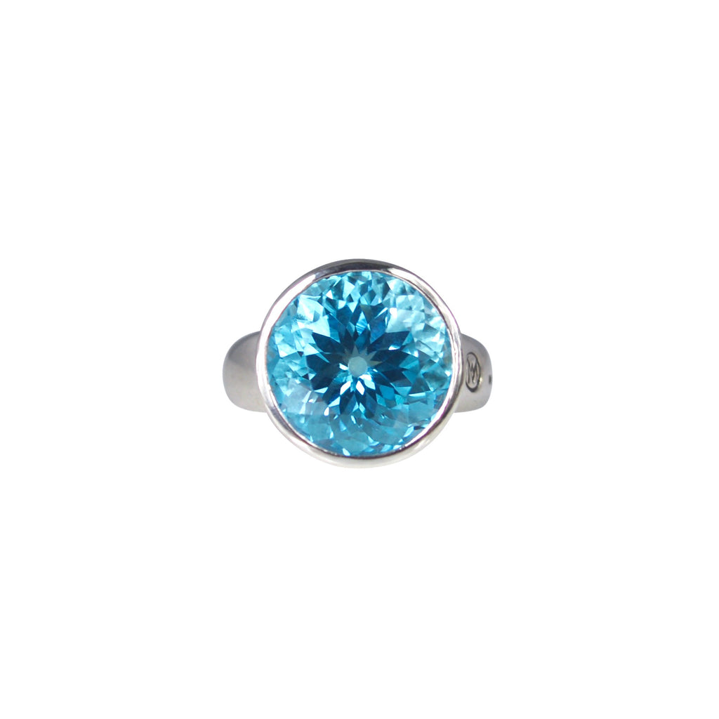 Allure Blue Topaz Ring