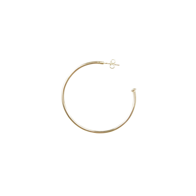 "Gold ""Extra"" Hoops"