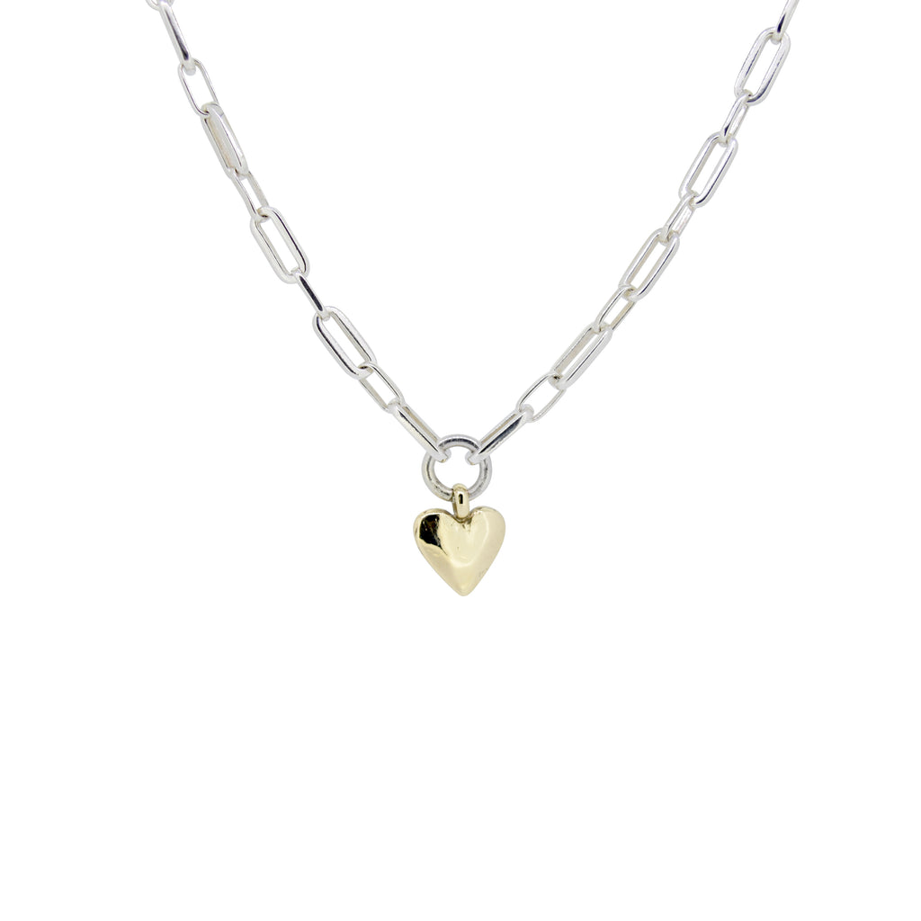 Gold Heart Florence Necklace