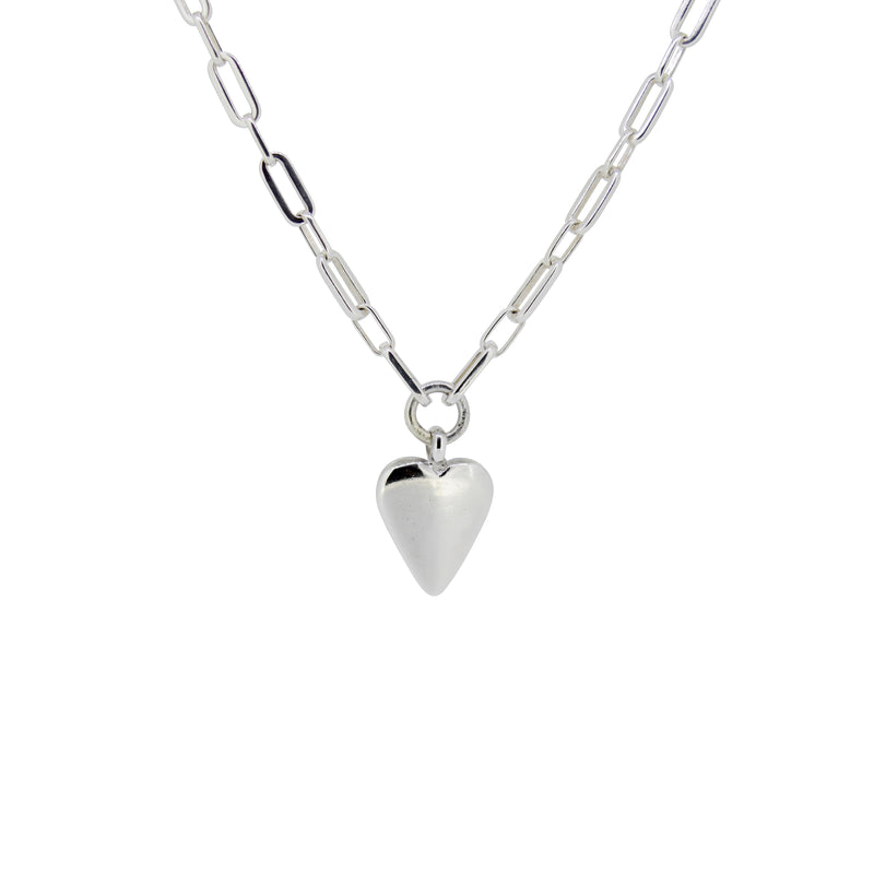 Large Heart Florence Necklace