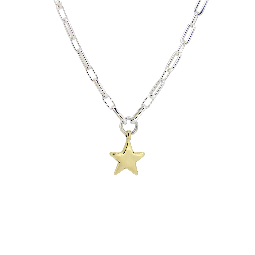 Gold Star Florence Necklace