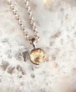 Glam Circle Necklace