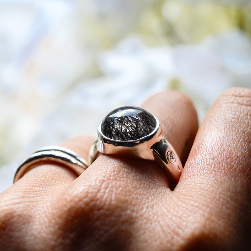 Allure Tourmalated Quartz Ring