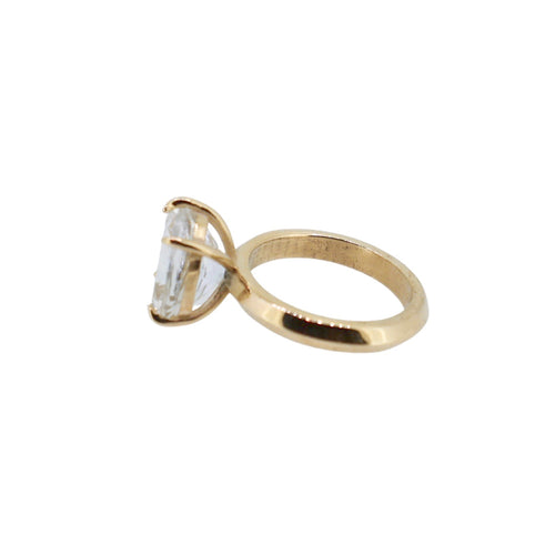 Gold Hera Claw Ring