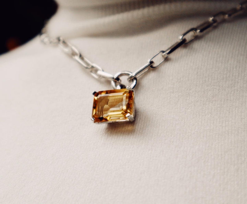 Luxury Hera Citrine Necklace