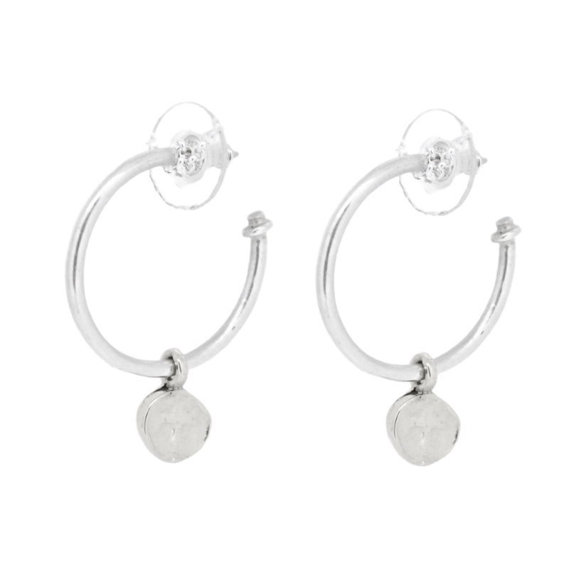 Midi Roman Cross Hoops