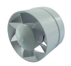 Axial Fan - Grey & Green Growshop