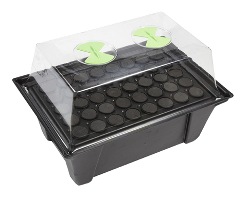 Clone Master - Aeroponic Cuttings Propagator - Grey & Green Growshop - 2