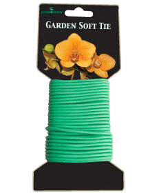 Garden Soft Tie - Grey & Green Growshop