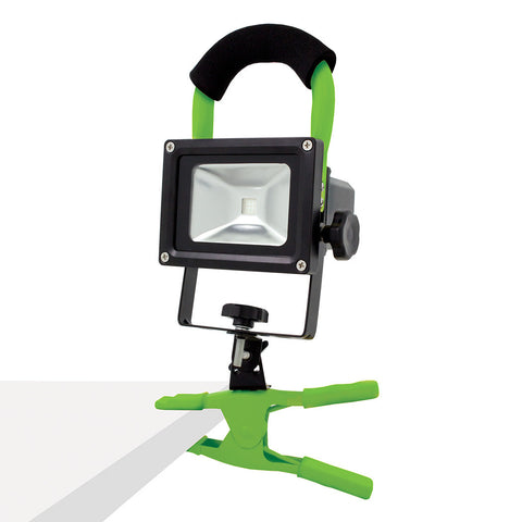 Green LED Work Light - Grey & Green Growshop