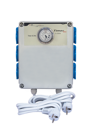 Timer box II 6 x 600 watt