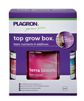 Top Grow Box Terra - Grey & Green Growshop